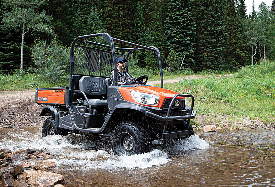 Residential - UTV in water