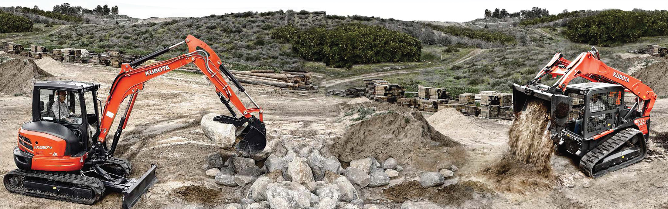 Commercial Tractors and Construction Equipment