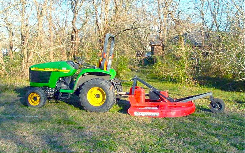 The Most Popular Compact Tractor Implements