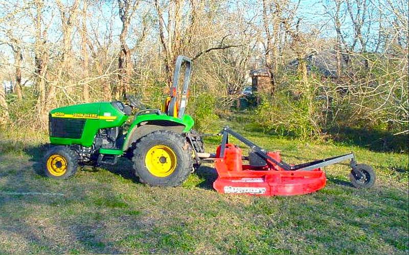 compact tractor attachment