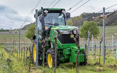 Specialty Tractors for Orchards and Vineyards