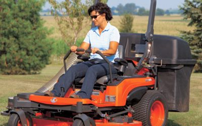 How to Drive a Zero-Turn Mower with Levers and No Steering Wheel