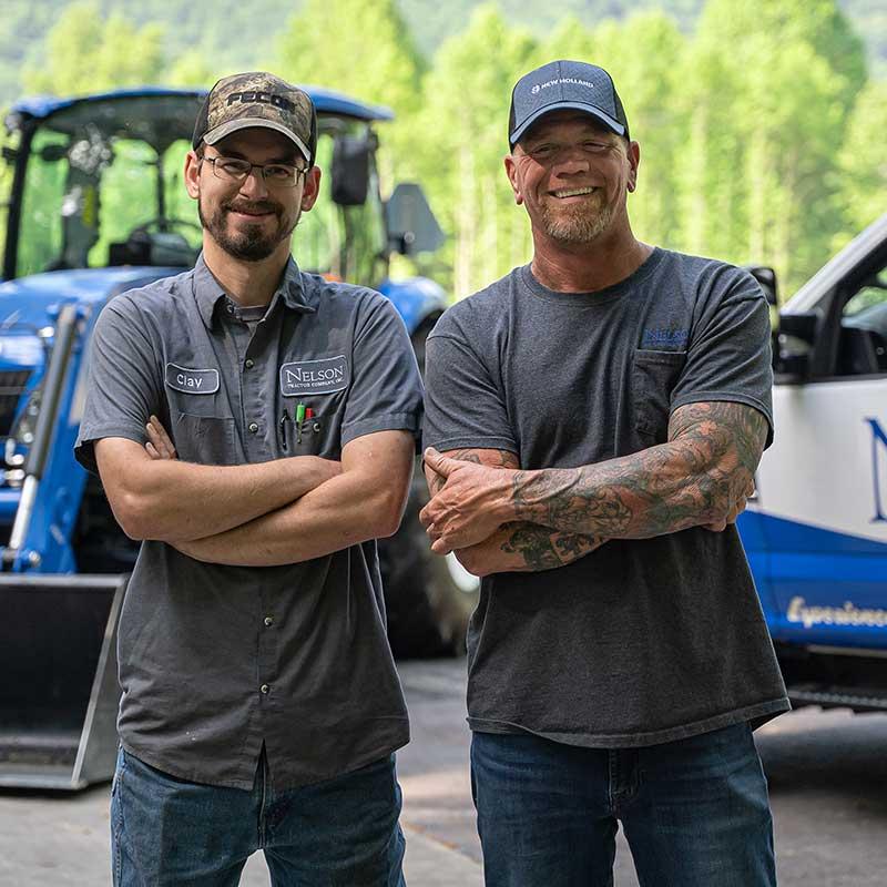 Nelson Tractor Mobile Service Technicians