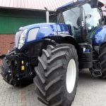 New Holland Tractor with Big Tires