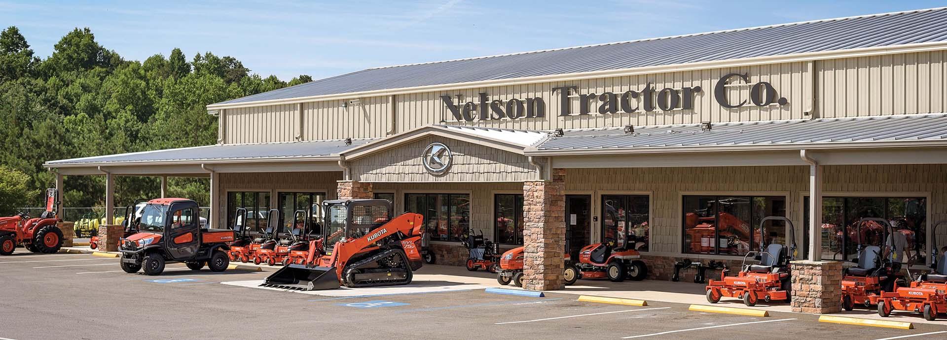 Nelson Tractor Company Storefront, Jasper Georgia