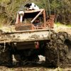 Tractor in Mud