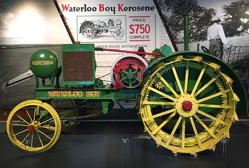 Waterloo Boy Tractor at the Smithsonian American History Museum